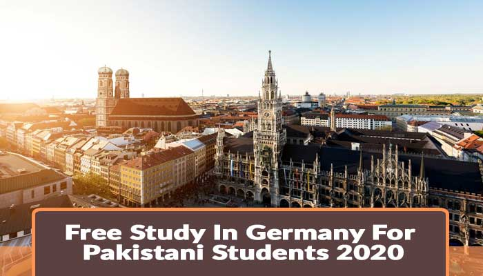 fully funded scholarships in germany for Pakistani students