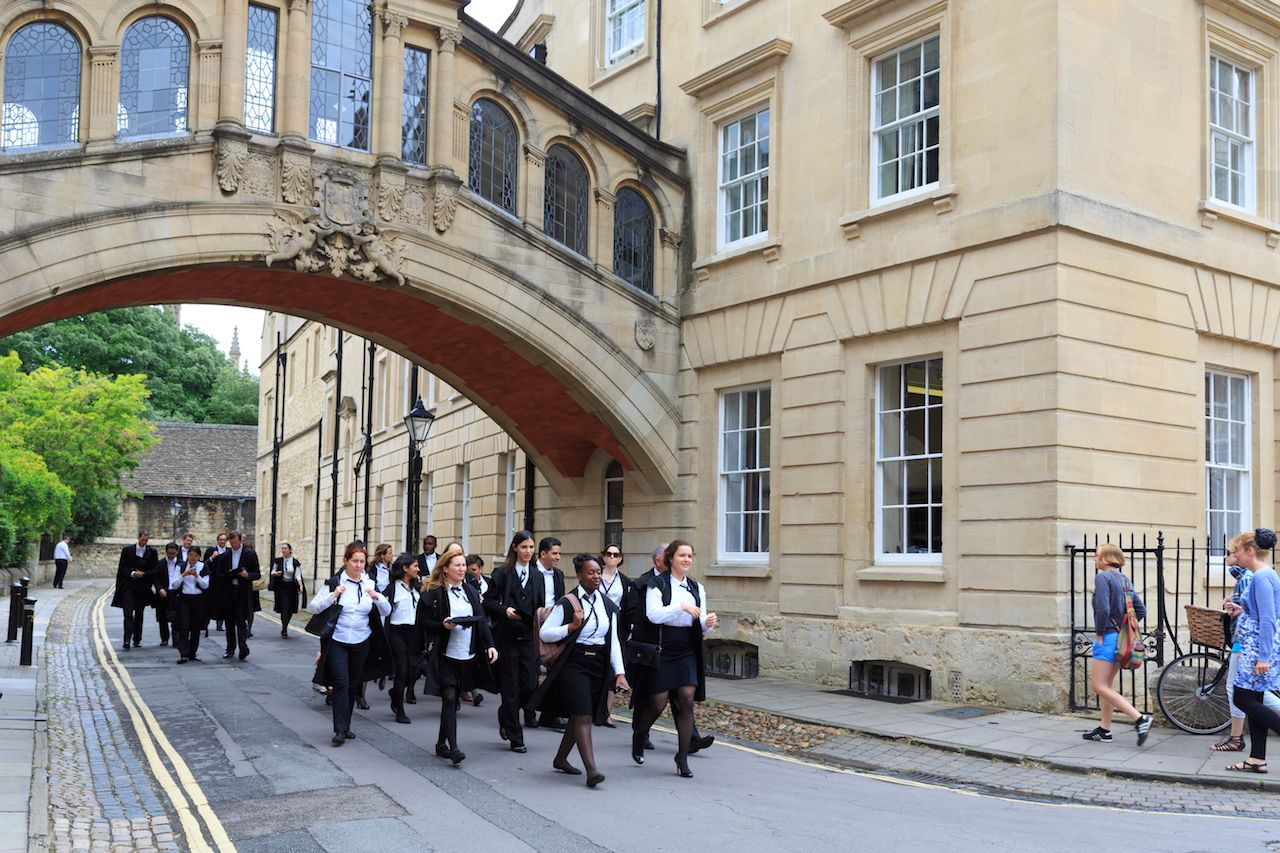best oxford university for the Pakistani students