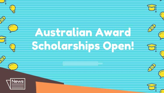 how pakistani students can apply in the Australian award scholarship 2020