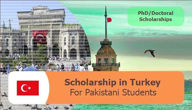 latest scholarships in turkey for Pakistani students