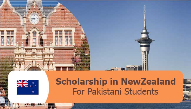 latest scholarships in new zealand for PAkistani students