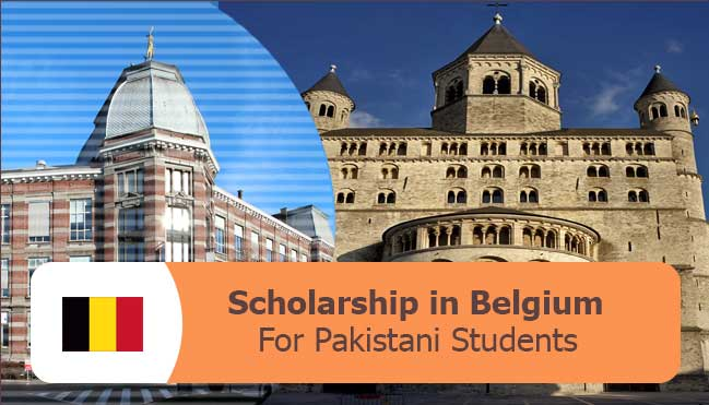 study abroad in Belgium scholarships for Pakistani students