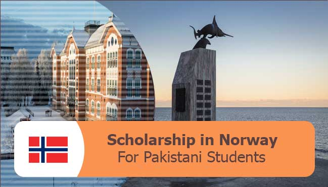 study free in Norway by getting the scholarships, get the details of scholarships in Norway for Pakistani students