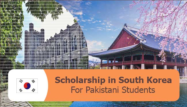 latest scholarships in South korea for Pakistani students