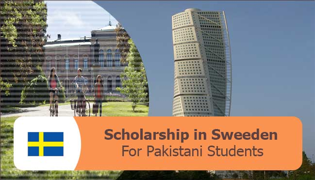 fullyfunded scholarships for Pakistani students in Sweeden