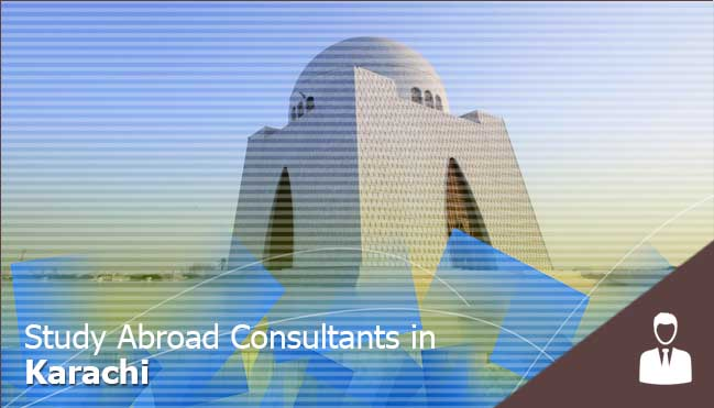 get the free consultancy in karachi to study abroad for karachi, Pakistan students