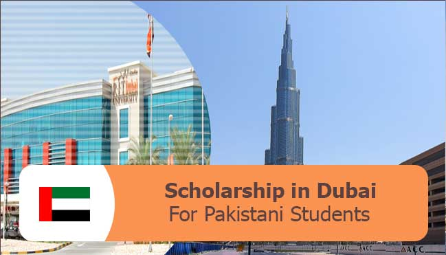 dubai scholarships for Pakistani students