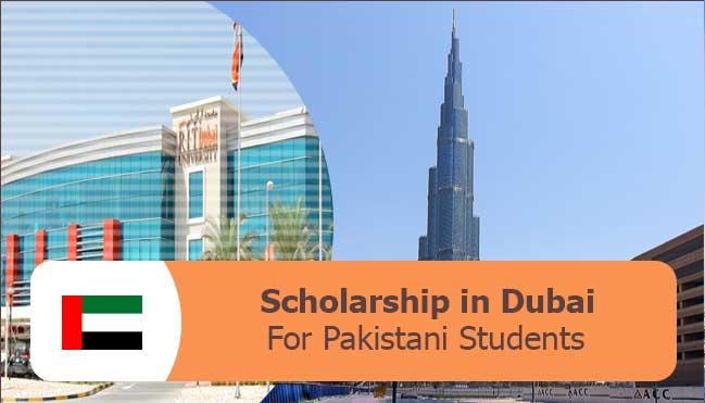 dubai scholarships for Pakistani students