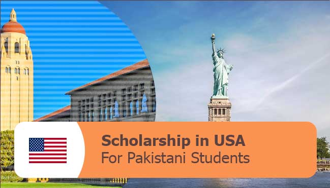 scholarships in USA for PAkistani students